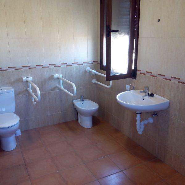 Albergue baño adaptado