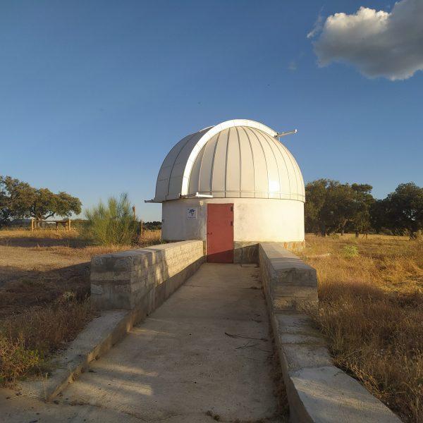 Exterior Observatorio astronomico