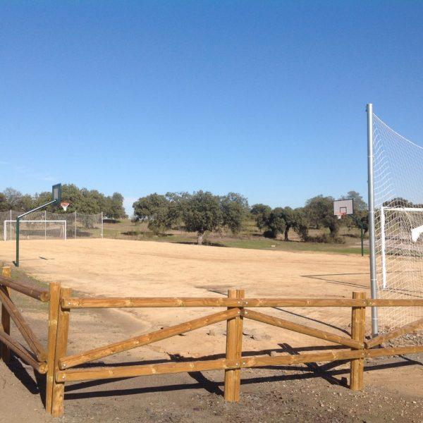 Exterior pistas deportivas